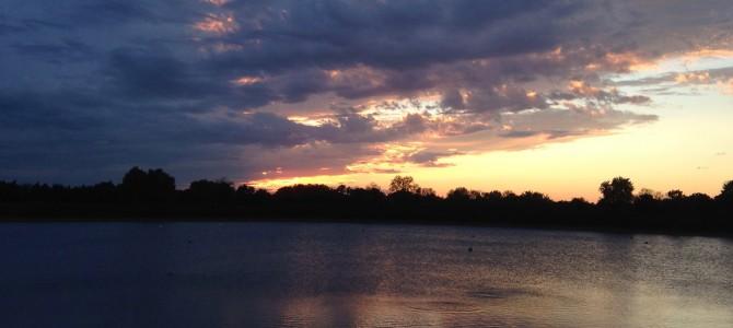 Beautiful coucher de soleil…