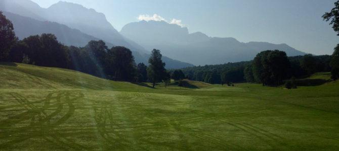 Le Golf du lac d'Annecy, mon premier golf de montagne